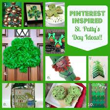 st patrick u0027s day crafts u0026 recipes pinterest inspired fun a