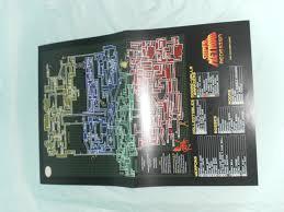 Metroid Nes Map Super Nintendo Snes Super Metroid Redesign Map Poster Uncle Tusk