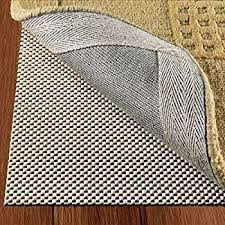 Area Rug Pad Non Slip Area Rug Pad For Hardwood Floors Size 2 X 8