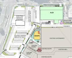 new aldi retail and refurbishments fairfield shopping centre