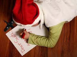 list do świętego mikołaja writing a letter to santa claus in