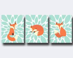 Animal Wall Decor For Nursery Baby Fox Decor Home Decorating Ideas