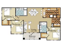 4 Bedroom House Beautiful 4 Bedroom Floor Plans Gallery Home Design Ideas