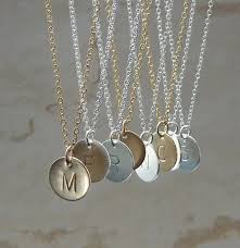 custom engraved necklace pendants initial charm necklace gold initial necklace custom personalized