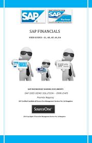 sap financials user guides gl ar ap aa ba