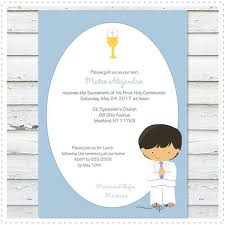communion invitation boy communion invitation prints