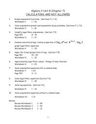 properties of logarithms worksheet answers properties of