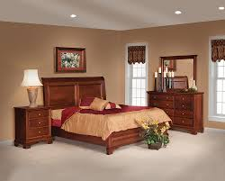 Solid Wood Bedroom Furniture Amish Bedroom Furniture Glamorous Bedroom Design