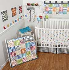 Bright Crib Bedding Sumersault 10 Crib Bedding Set Doodles Bright