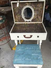 ideas to repurpose old suitcases repurpose wall shelving and