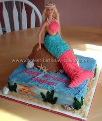 mermaid birthday cake coolest mermaid birthday cake ideas and photos