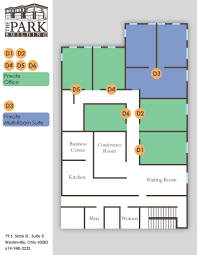 Floor Plan Of The Office Office Desk U0026 Conference Room Rental Rates Westerville Oh