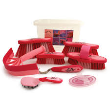 pink bentley bentley 9 piece equestrian grooming kits buydirect4u