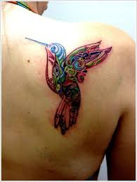 of stunning hummingbird tattoo and designs