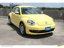 volkswagen beetle yellow 2013 yellow rush volkswagen beetle 2 5l 69461512 gtcarlot com