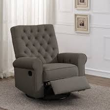 swivel recliner harriet bee arlen swivel reclining glider reviews wayfair