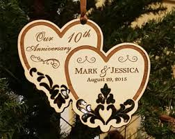anniversary ornament anniversary ornament etsy