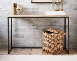 Skinny Foyer Table Narrow Console Table Etsy