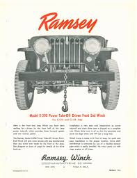 ramsey winch the cj2a page forums