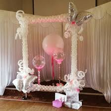 wedding balloon arches uk wedding photo frame with deco bubbles and 3ft geronimo