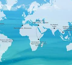 Bora Bora On Map Of The World by Gallery Around The World Classic 2016 Tcs World Travel
