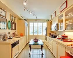 Galley Kitchen Lighting Ideas Track Lighting Kitchen Sloped Ceiling U2013 Fitbooster Me