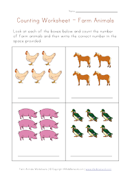 animals worksheets kindergarten