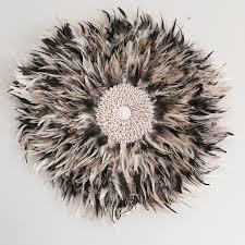 www feather jeddala imports bali decorative feather wall art natural