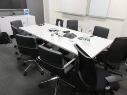 White Conference Table Conserv Office Solutions