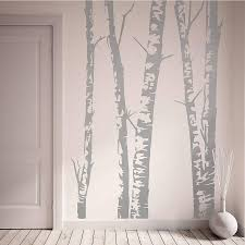 wall stickers oakdenedesigns com silver birch trees vinyl wall sticker oakdene designs 1