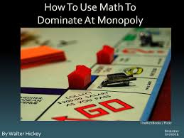 how to use math to dominate at monopoly business insider
