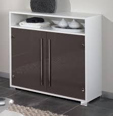 kommode für badezimmer badezimmer kommode weiß mit glasfronten in taupe badmöbel gäste