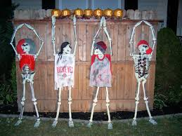 Halloween Skeleton Decoration Ideas Big Lots Skeletons Oh Io Skeleton Yard Art Halloween