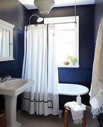 navy blue paint color for small bathroom bathroom decor