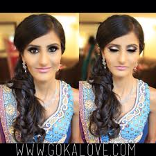 makeup artist in ri makeup hair and dupatta setting for an indian wedding boston