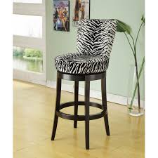 Counter Stools With Backs Best by Furniture Zebra Print With Black Wood Swivel Barstool With Backs