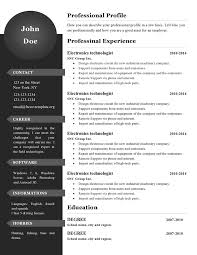 resume templates with photo new resume templates ajrhinestonejewelry