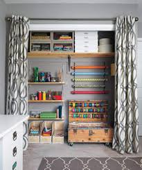 Home Network Closet Design 9 Craft Room Makeover Ideas Real Simple