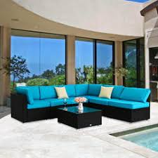 Rattan Wicker Patio Furniture Patio Conversation Sets Outdoor Seating Sets Kmart
