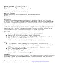 Market Research Analyst Resume Sample by Credit Analyst Resume Berathen Com