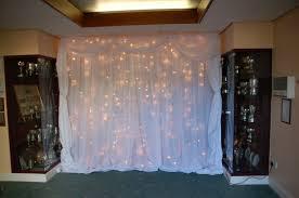 Fairy Light Wall by Fairy Light Canopy Wedding Lighting Hire