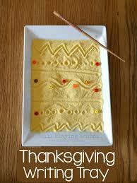 thanksgiving sensory bin thanksgiving writing tray still playing