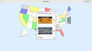 United States License Plate Map by State Plates License Tag Game Android Apps On Google Play