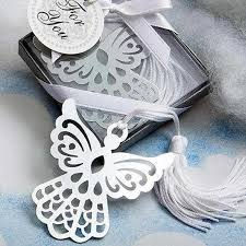 gift tree free shipping wholesale angel silver bookmark for baptism baby shower souvenirs
