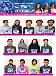 Vote Idol Vote For Your Favorite Pakistan Idol Contestant Desifreetv