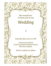wedding invitation template wedding invitation template wikidownload