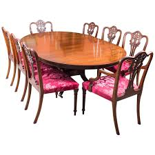 Vintage Dining Room Furniture Vintage Dining Table And Eight Chairs By Arthur Brett And Sons At