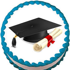 edible graduation caps cap and diploma graduation edible cake cupcake cookie topper