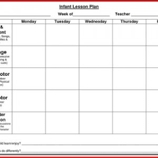 sample preschool lesson plans with goals and objectives