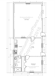 1 Bedroom House Plans by Barndominium Floor Plans Pole Barn House Plans And Metal Barn